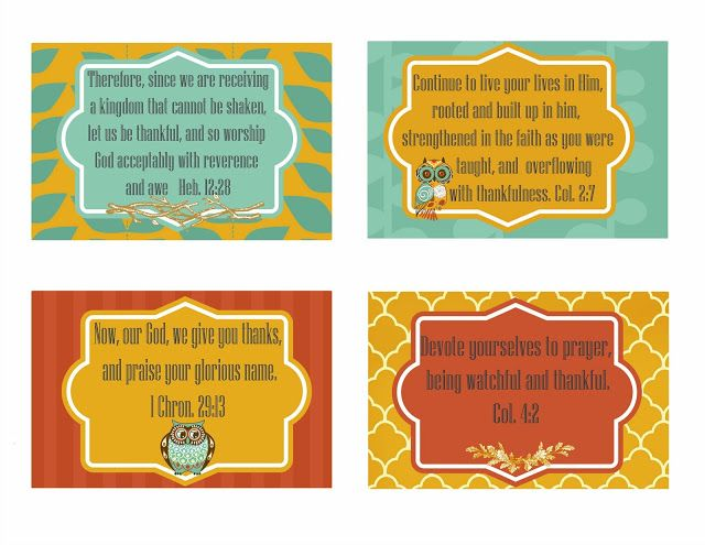 Best 25 Thankful scripture ideas – Free Printable Religious Thank You Cards