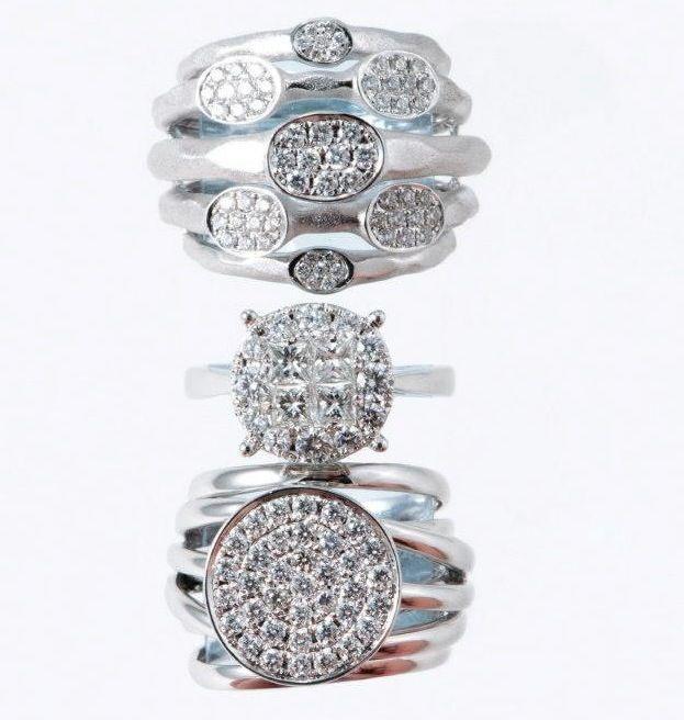 Oro Blanco y diamantes Mery Satt