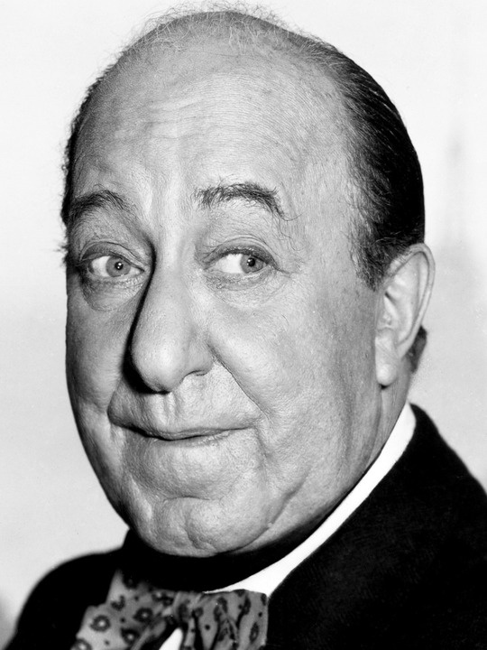 Ed Wynn, popular comedian actor, writer, director  producer of broadway shows. Father of Keenan Wynn 1886-1966