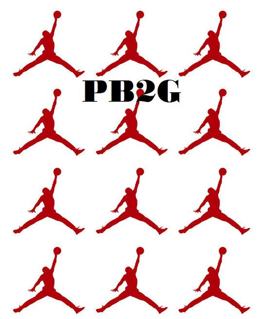 JUMPMAN VINYL STICKERS are perfect for a Baby Shower, Birthday Party, and more. The colors and logo can be changed to meet your needs. If you have any specific design needs send us an email regarding your request. No Refunds Item is handmade in a smoke free environment and ships within