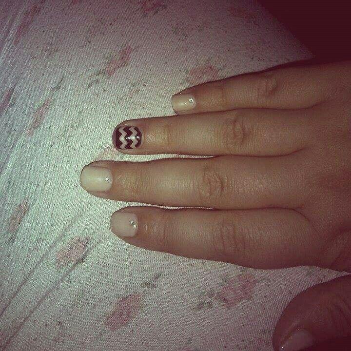 #nail_art #swarovski  #elegant #pearl #spring #design #2015