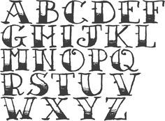 how to draw the alphabet in cool letters - Google Search