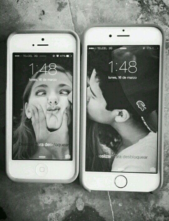одна картинка на два телефона решили вырастить люффу