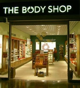 Love The Body Shop products.