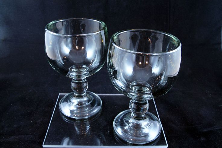 Anchor Hocking Weiss Beer Pilsner Goblet set of 2 by DSGAntiques on Etsy