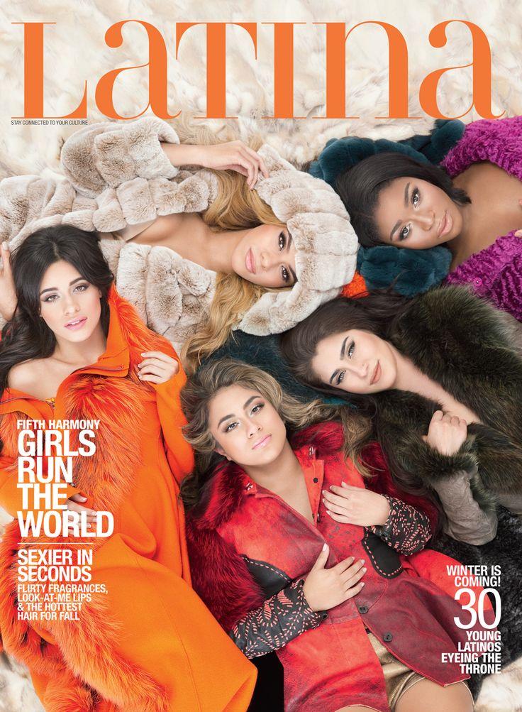 Fifth Harmony Latina Magazine November 2015 Cover
