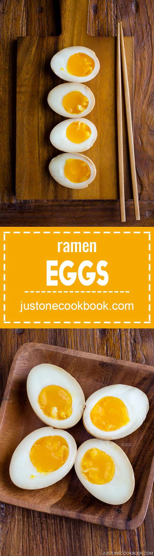 Ramen Egg (味付け玉子) | Easy Japanese Recipes at JustOneCookbook.com