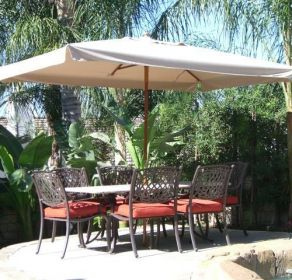 Great Find This Pin And More On Patio Umbrellas. X Rectangle Market Umbrella