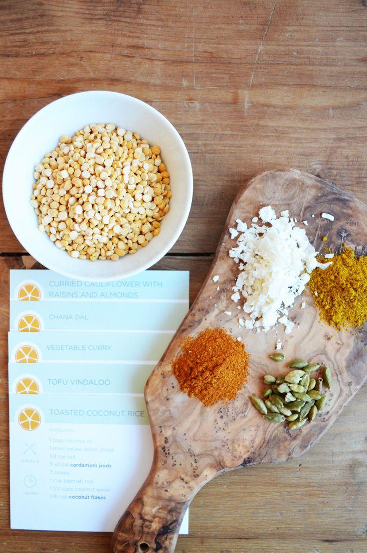 DIY Indian Cooking Kit - Vegetarian