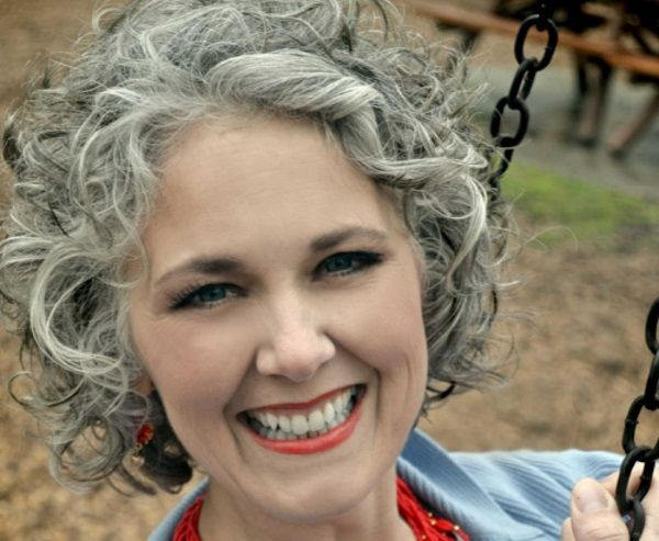 Short Grey Hairstyles: Gone Are The Days Of Blue Haired Old Lady 'dos. Modern