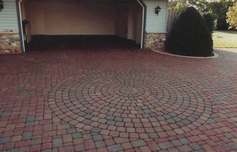 brick driveway patterns - Google Search