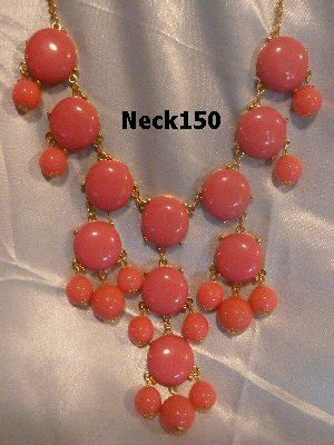 Necklace Pink Beaded #Neck150