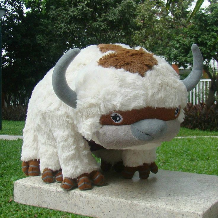 "The Last Airbender Resource 20"" Appa Avatar Stuffed Plush"