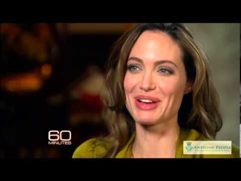 Angelina Jolie Attention Grabbing Interview - YouTube