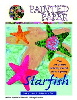 These Starfish Art Lessons introduce students to the beauty of starfish while incorporating Science. Children will learn various facts about starfish while creating fun, colorful art projects. They will use a variety of art supplies while reinforcing LA and important Science/Art vocabulary.