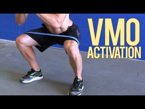 VMO Activation Exercises - How to Train your Vastus Medialis Oblique or tear drop - YouTube