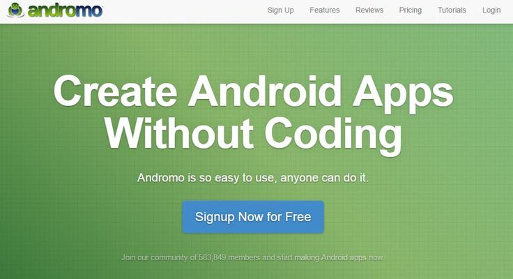 Android app development has never been easier. Create your own app for free using Andromo Android app maker. Learn how to make an app without coding. Create Android apps today with this easy mobile app builder. No Android development tools needed! #androidappmaker http://www.andromo.com