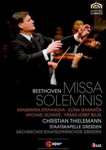 Christian Thielemann/Staatskapelle Dresden: Beethoven - Missa Solemnis [DVD] [2010]