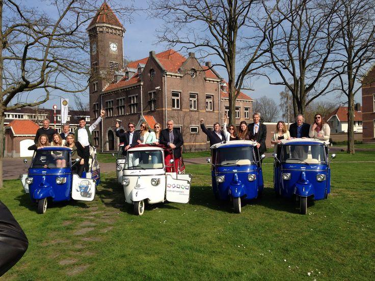 Tuktuk stadstour door Utrecht ! Onze tuktuks kunnen ook op lokatie komen.