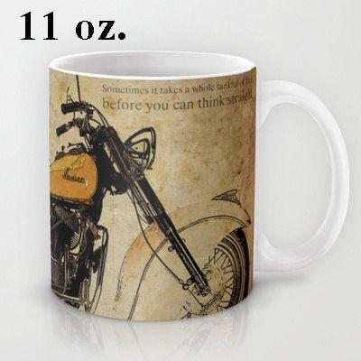 INDIAN CHIEF 1950  Original Art  a great gift for men by drawspots #mug #taza #giftforhim #man