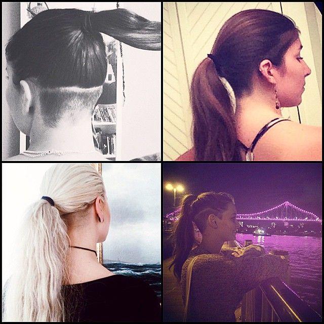 25 unique undercut ponytail ideas on pinterest undercut undercut ponytail nape undercut hair cuts haircuts hairstyles hairdos hair style hair cut hairstyle urmus Images