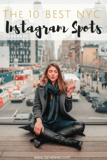 The 10 Best Instagram Spots in NYC: The only guide you need for the 10 best NYC Instagram Spots with locations and tips. Show off to your friends with the most instagrammable NYC Spots from your trip to New York City.
