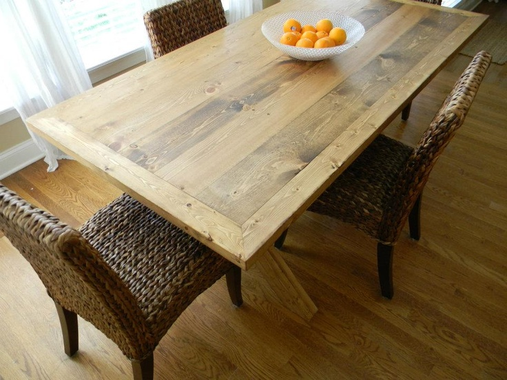 Grassland Dining Table maybe different legs  but love the top!