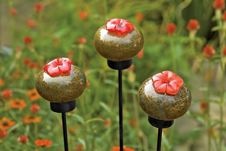 ceramic humming bird feeders | Ceramic Hummingbird Feeder