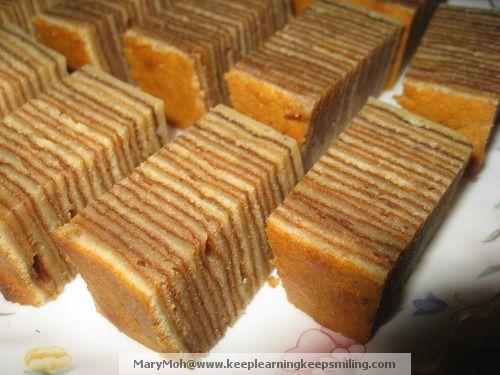 Classy Indonesian Layer Cake (Kek Lapis)