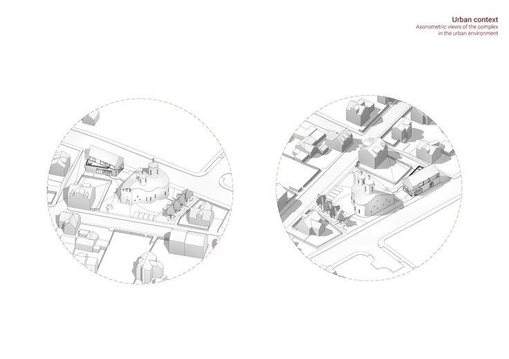 Quadratura Circuli Aim to Revive Russian Religious Architecture with Cultural Center in Reykjavic,Courtesy of Cuadratura Circuli #religiousarchitecture