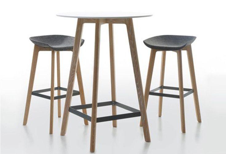 Chairman kolekcja barowa: stolik plus krzesła.