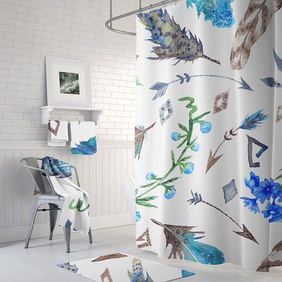 Feather Shower Curtain Shc4 01 Bathroom Shower Curtains Luxury
