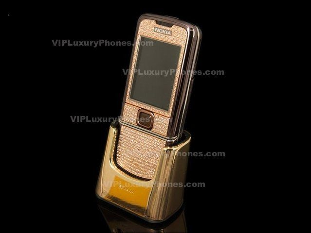 NOKIA 8800 Designer Gold Cell phone