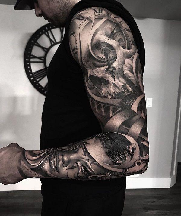 Realistische Tattoos von Greg Nicholson