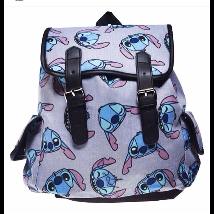 Lilo and stitch, stitch backpack