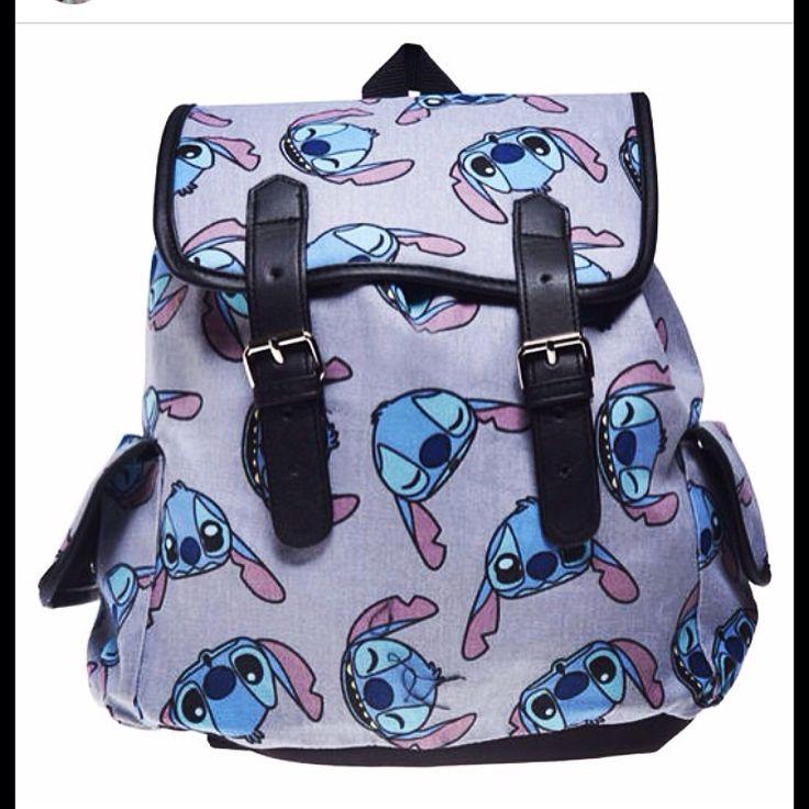 Lilo and stitch, stitch backpack