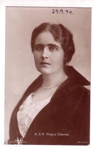 Princess Elisabeth of Romania  About 1920