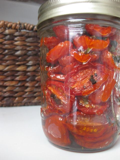 Slow Roasted Tomatoes--I'll try again, they were a bust last time with a different recipe.
