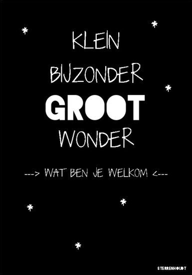 Kaart | Wonder | Sterrenhoudt | Zwart - Sterrenhoudt |Designd With Love|