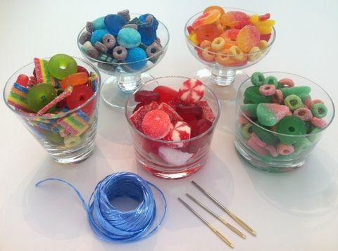 Wooloo | Des colliers de bonbons, une belle activité de fête d'enfants