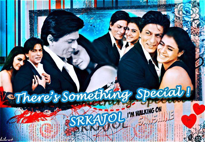SRK and KAJOL by layaly.deviantart.com on @deviantART