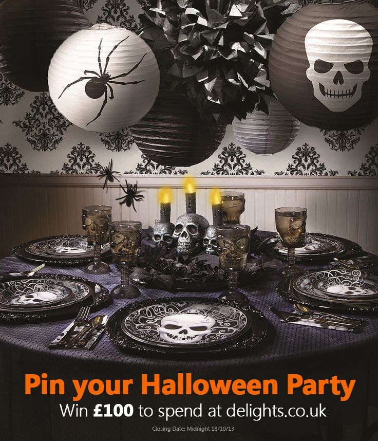 Win £100 to spend at Delights on Halloween party supplies and costumes! #Delightfulhalloween