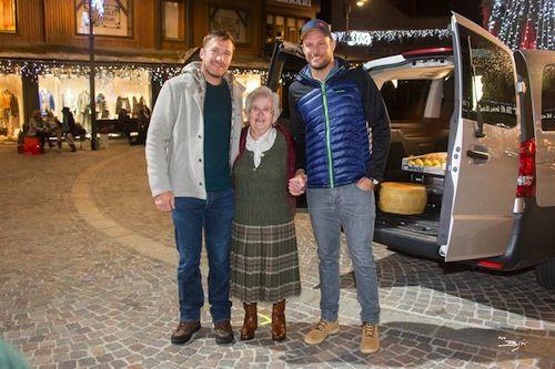 Bode Miller e Aksel Svindal nel nuovo spot del Trentino