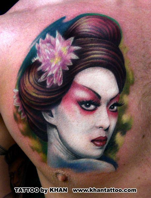 胸,ポートレート,人物のタトゥーデザイン|タトゥーナビ