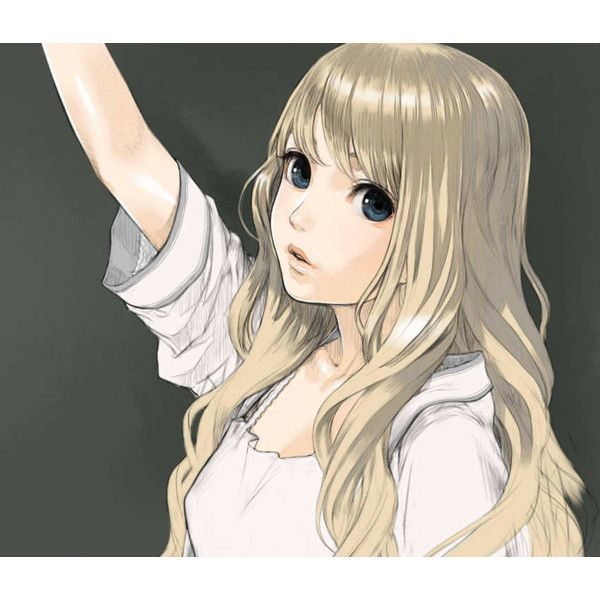 Safebooru - Anime picture search engine! - blonde hair blue eyes bust... ❤ liked on Polyvore featuring anime, anime girls, backgrounds, people and filler