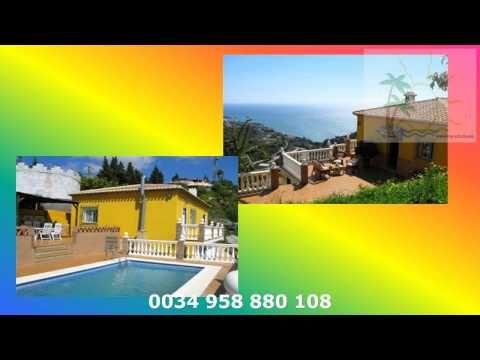 Ferienhaus Top Urlaub Unterkunft Almunecar, Salobreña Costa Tropical, Spanien  http://top-urlaub.comBeispiel Ferienhäuser EigenschaftenNr. 50 Finca CarmonaIn Toplage, auf einem Bergrücken im Hinterland bei Almunecar liegt diese ruhige, ansprechende Finca. Vor dem Haus haben Sie eine große sonnige Terrasse.Im Innenhof, am nicht einsehbaren Pool,  steht Ihnen eine ca. 200 qm große Terrasse mit überdachter Grillecke und Sonnenliegen zur Verfügung.Von der Poolterrasse haben Sie einen…