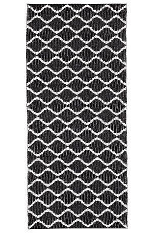 Horredsmattan Motta Wave 70 x 250 cm svört eða bleik - Pipar og Salt