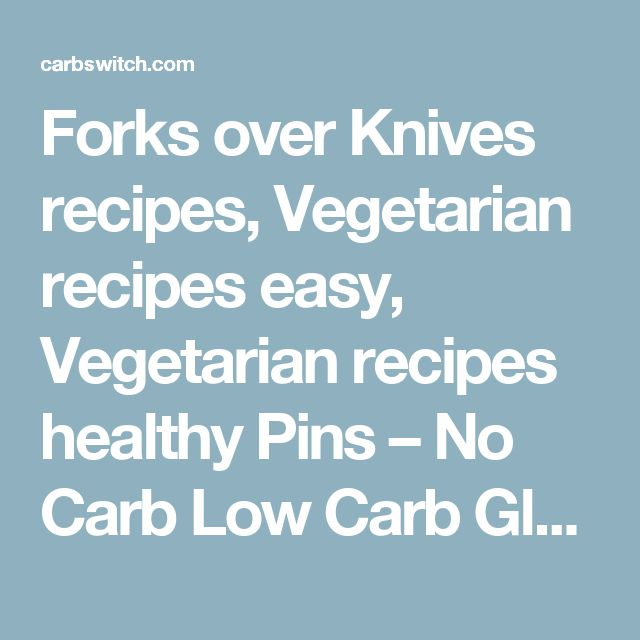 how to lose weight on forks over knives