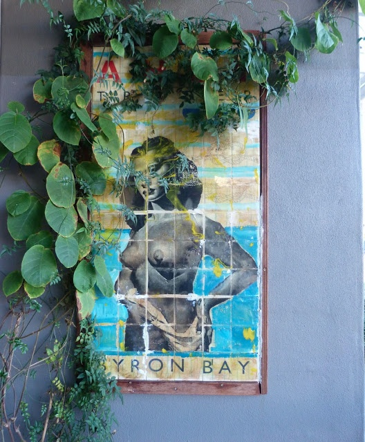 beachcomber: ahoy trader byron bay (Print a poster/picture on tile for outdoor…