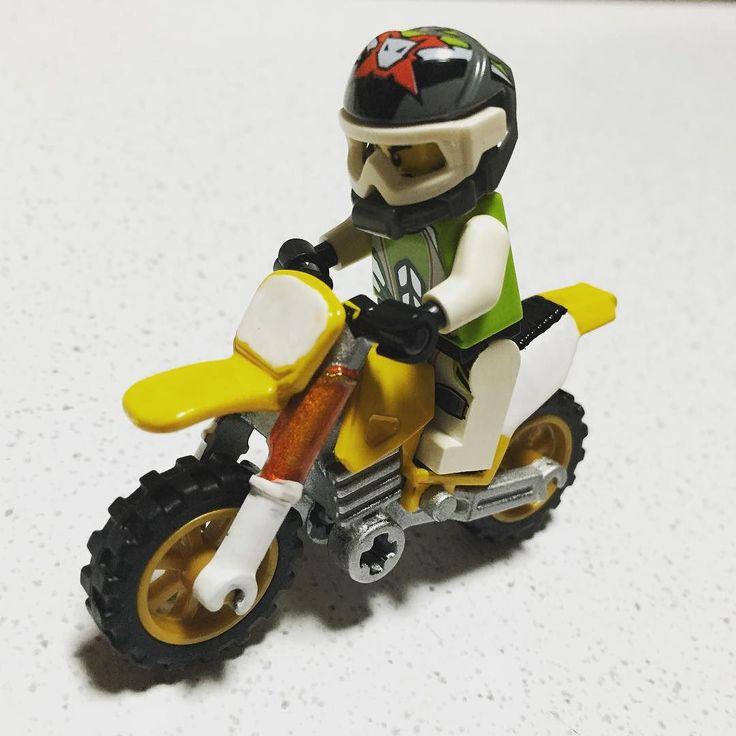 RM-Z250を納車 #バイク #ツーリング #SUZUKI #RMZ250 #林道 #オフロード #モトクロス #エンデューロ #レゴ #LEGO by imoimoka2
